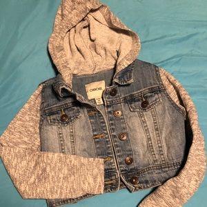 Other - Kid Denim and grey hoodie